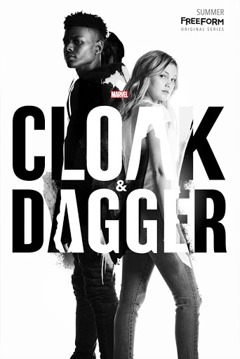 Cloak and Dagger series poster